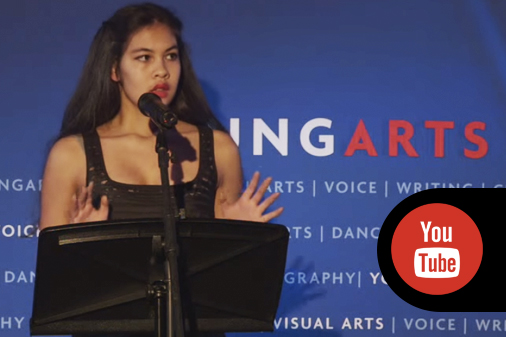 See this clip of Kai Williams at the 2015 YoungArts reading!